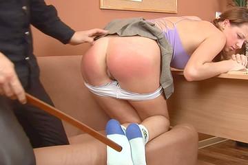 Man punishing his negligent student